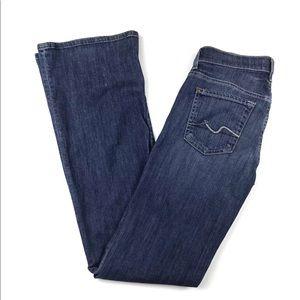 7FAM | Boot Cut Jeans Size 25 Tall 28x33